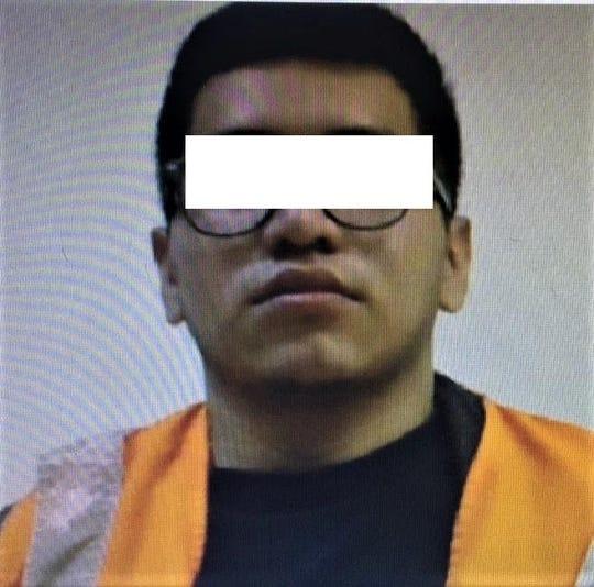 Andres David H.S. is accused of killing university student Dana Lizeth Lozano Chavez at a park near the UACJ campus in Juárez, Mexico.
