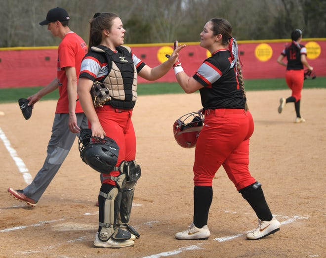 The Vineland High School softball team hosted rival Millville on Monday. The Thunderbolts topped the Fighting Clan 4-3. 4/8/19