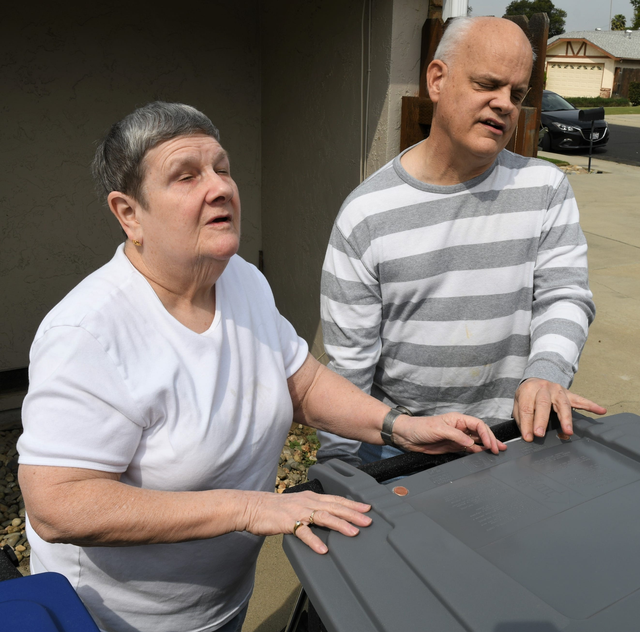 Visalia tries to make 'cents' of new garbage cans for blind residents