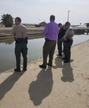 A body found in a Tulare canal not far from where an abandoned car belonging to a missing man was discovered.