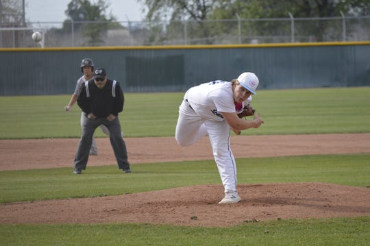 Central Valley Christian's Spencer Morris is a starting pitcher on the Cavaliers' baseball team.