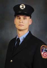 Christopher Slutman, 43, worked as a New York City firefighter for 15 years. Slutman, who had a residence in Yonkers, was serving with the Marine Corps when he was killed in Afghanistan on April 8, 2019.