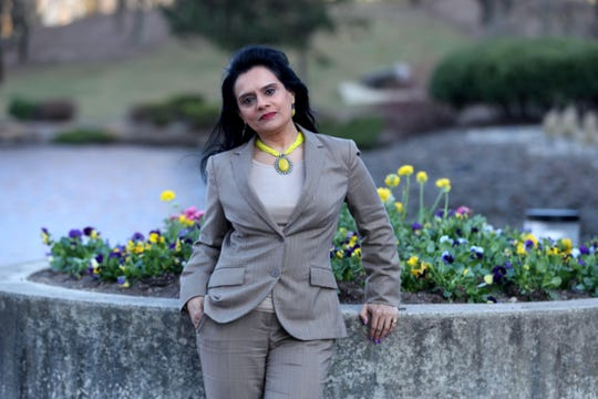 Bijal Jani of Nanuet, photographed April 3, 2019, is proud to have two women with East Asian connections running for President. She says that for her, one of the challenges of growing up in the United States was a lack of role models, something she hopes that Kamela Harris and Tulsi Gabbard will provide for young woman of East Asian descent.