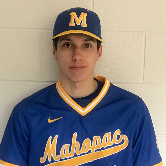 Mahopac senior center fielder Mike Musantry was named lohud's Baseball Player of the Week for April 1-7, 2019.