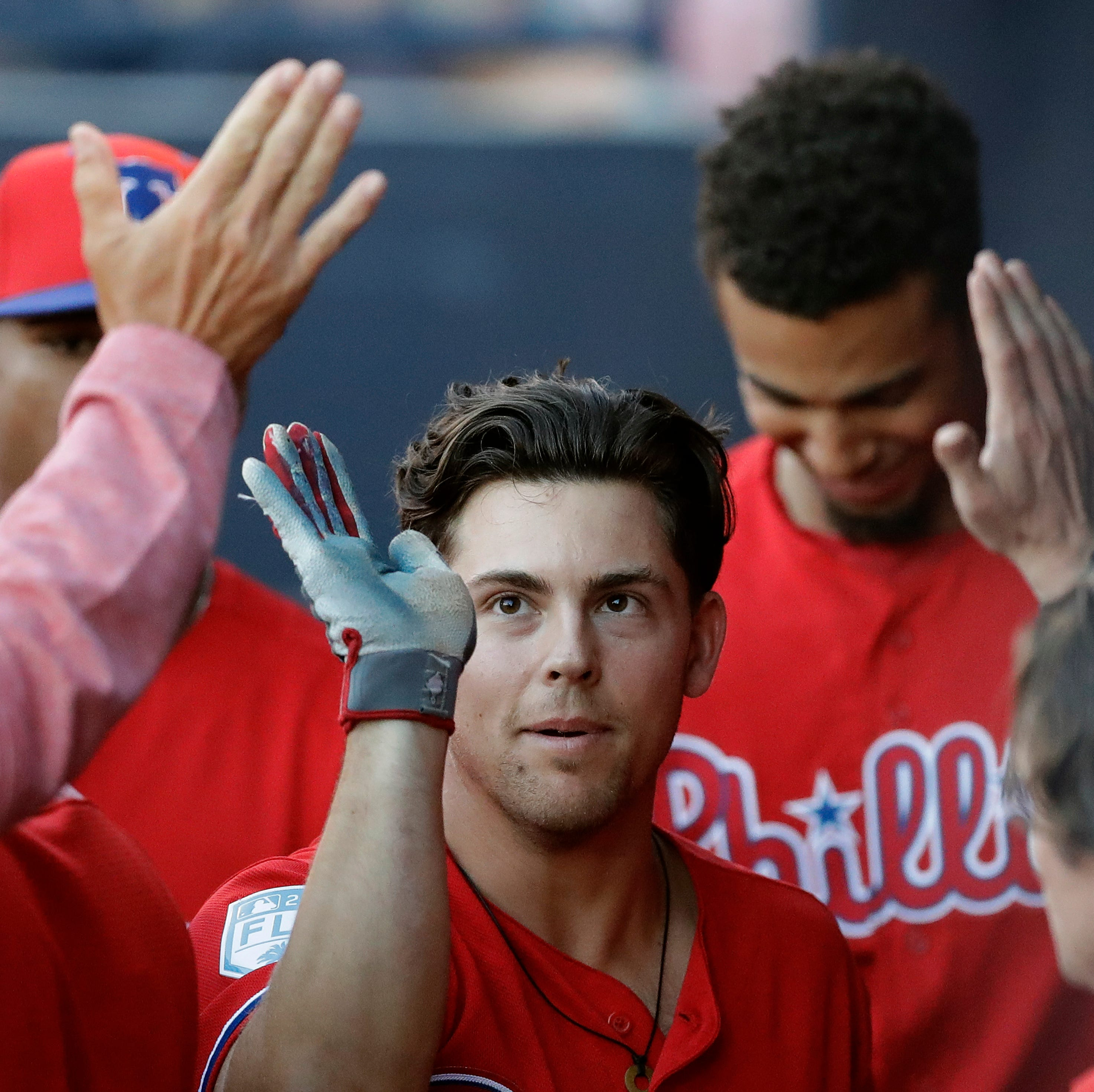 Phillies-Rockies lineups with Scott Kingery, Roman Quinn replacing injured players