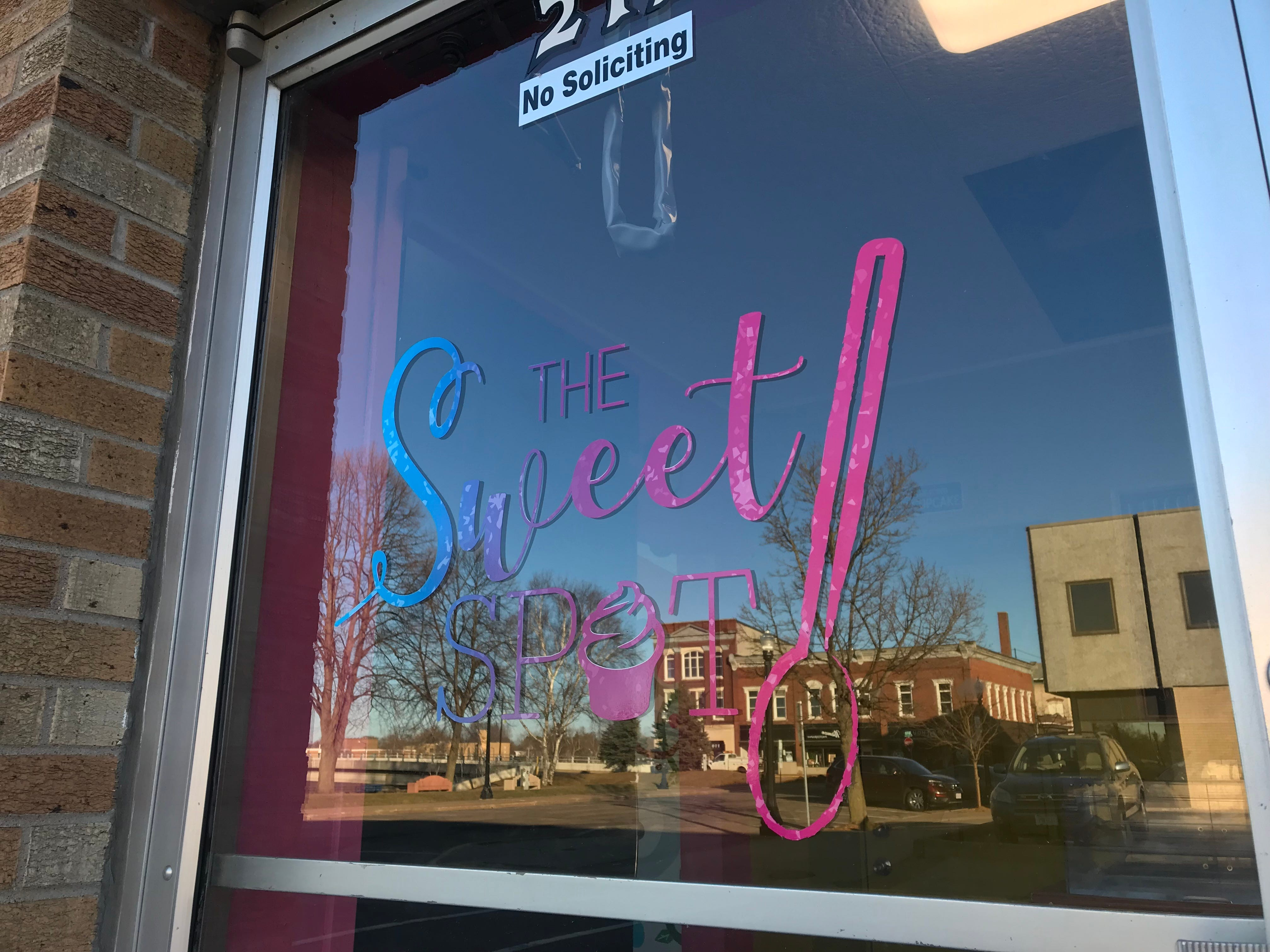 You can find The Sweet Spot near Wood Trust Bank in Wisconsin Rapids.
