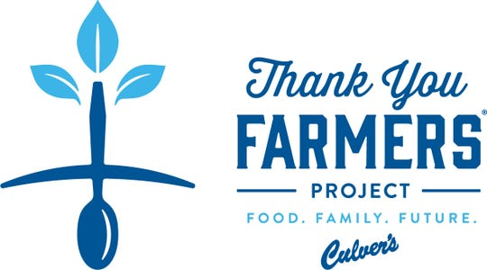 Culver's Thank You Farmers project