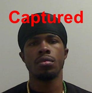 Williams apprehended by sheriff's office