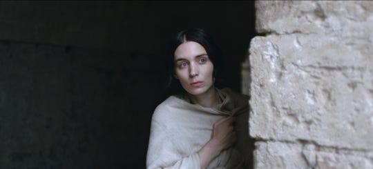 """""""Mary Magdalene"""" (played by Rooney Mara) depicts its biblical heroine not as a prostitute, but a resourceful young woman from a fishing village in Judea."""