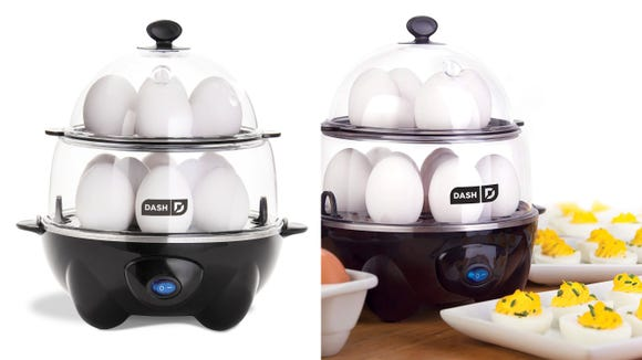 This 12-egg cooker is the perfect way to make breakfast for the whole family.
