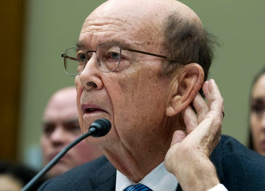 Commerce Secretary Wilbur Ross testified in March before the House Committee on Oversight and Reform.