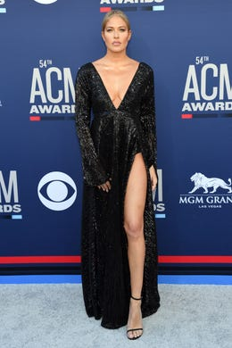 LAS VEGAS, NEVADA - APRIL 07: Barbie Blank attends the 54th Academy Of Country Music Awards at MGM Grand Hotel & Casino on April 07, 2019 in Las Vegas, Nevada. (Photo by Ethan Miller/Getty Images) ORG XMIT: 775313911 ORIG FILE ID: 1141097424