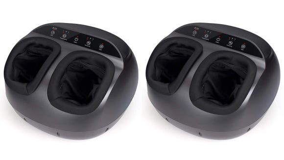With this Shiatsu massager, you can relax in style at home.