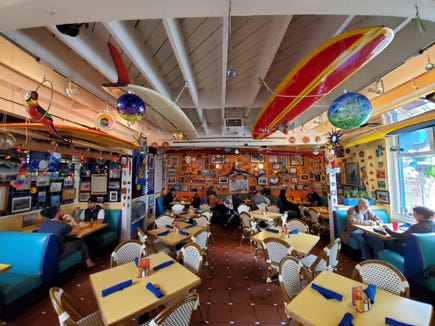 The Riviera Mexican Grill in Redondo Beach, shot in super wide mode on Galaxy S10+
