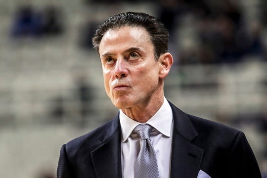 Rick Pitino is coaching in Greece and looking for an opportunity to return to college basketball.