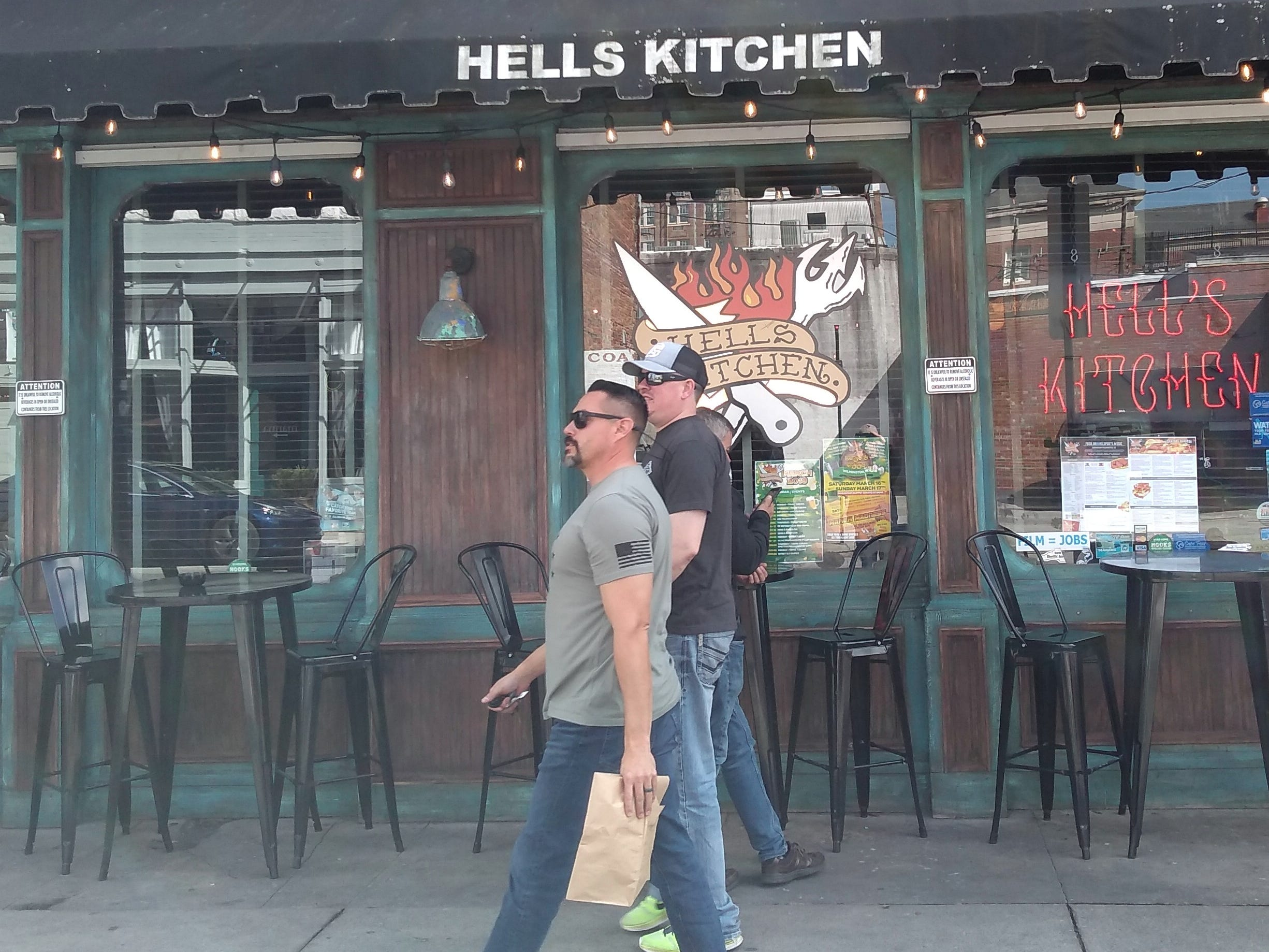 "Fans of ""Dawson's Creek"" and ""One Tree Hill"" make pilgrimages to Wilmington. One popular photo-op stop is Hell's Kitchen, a bar and grill downtown on Princess Street. It was used as a set for both series, and takes its name from its ""Dawson's Creek"" role. (It was the Swinging Donkey Bar in ""One Tree Hill."")"