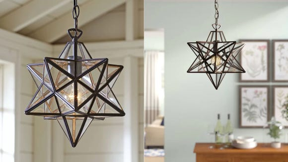 How could you not want this gorgeous pendant light?