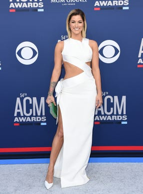 LAS VEGAS, NEVADA - APRIL 07: Cassadee Pope attends the 54th Academy of Country Music Awards at MGM Grand Garden Arena on April 07, 2019 in Las Vegas, Nevada. (Photo by Axelle/Bauer-Griffin/FilmMagic) ORG XMIT: 775313911 ORIG FILE ID: 1141174462