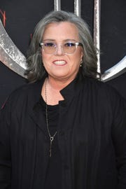 "Rosie O'Donnell attends the Season 8 premiere of ""Game Of Thrones"" on April 3, 2019 in New York City."