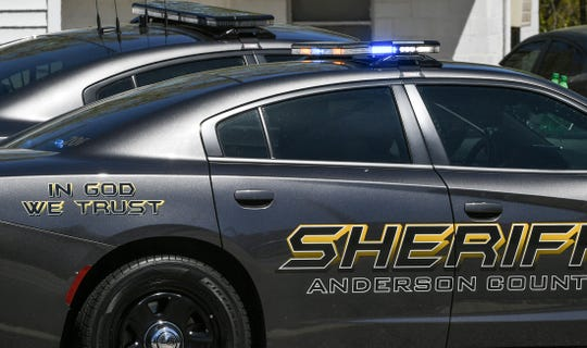 A deputy with the Anderson County Sheriff's Office was injured in a single-car crash Monday night near Michelin Boulevard and Masters Boulevard, according to the agency.
