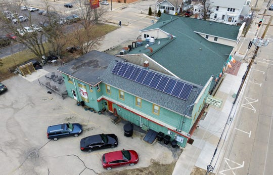 Owners of the Fox River House in Appleton have invested in solar panels.