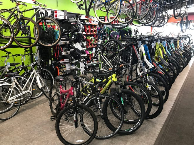 Schwag Bike Shop will return to its original location south of the Fox River Mall in May.