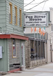 Fox River House, which dates back to 1870, is now partly powered by solar panels.
