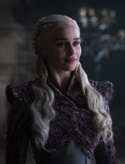 "Emilia Clarke as Daenerys Targaryen in ""Game of Thrones"" Season 8."