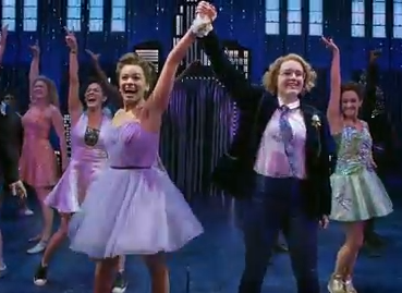 "Highlights from ""The Prom"" on Broadway, starrring Brooks Ashmanskas, Beth Leavel, Christopher Sieber, Caitlin Kinnunen, Isabelle McCalla and Angie Schworer"