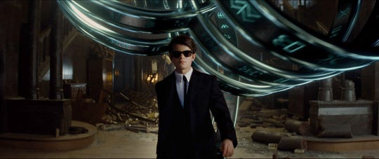 "Ferdia Shaw is Artemis Fowl in Disney's ""Artemis Fowl,"" directed by Kenneth Branagh."