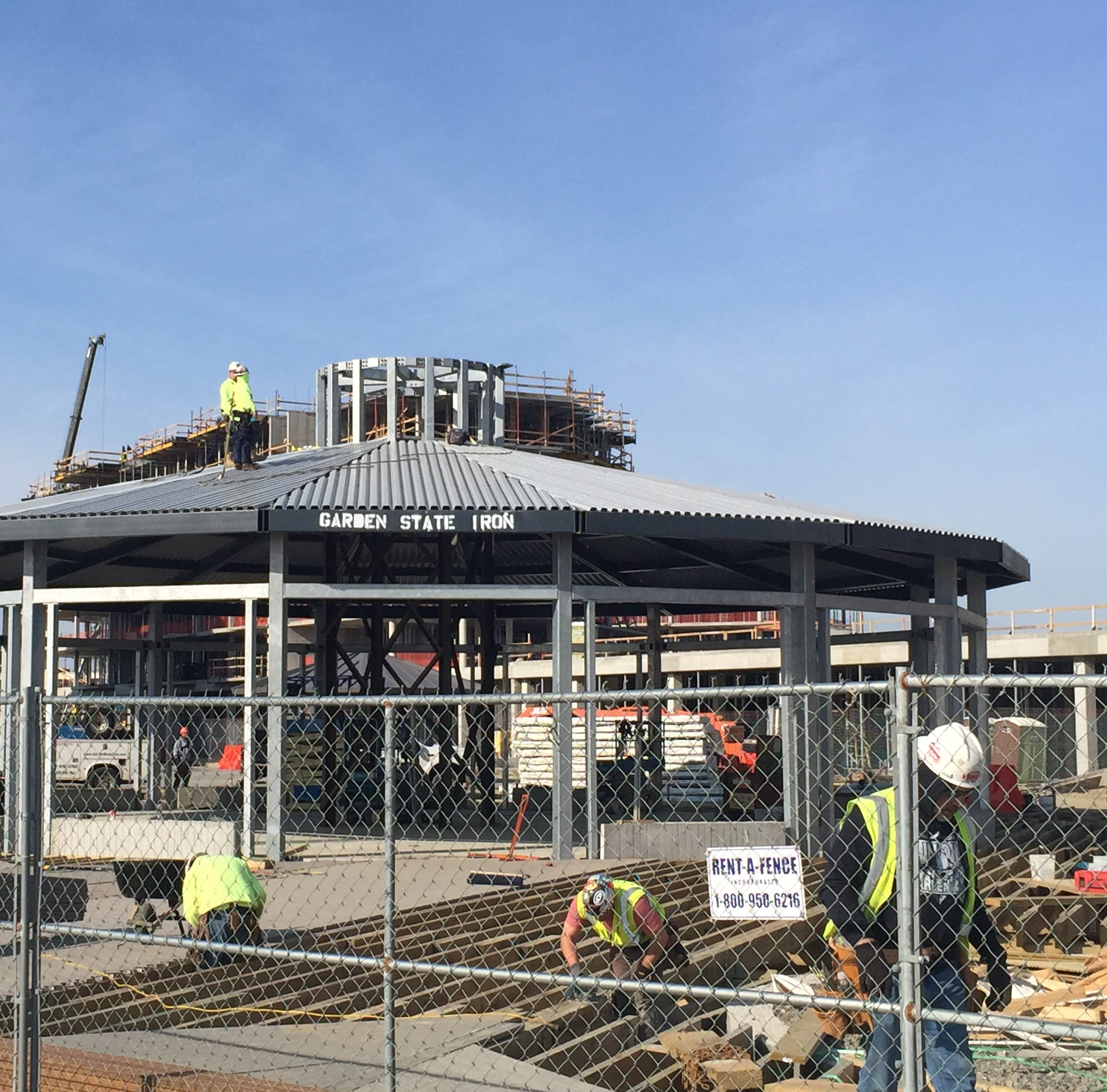 Pier Village carousel is rising in Long Branch