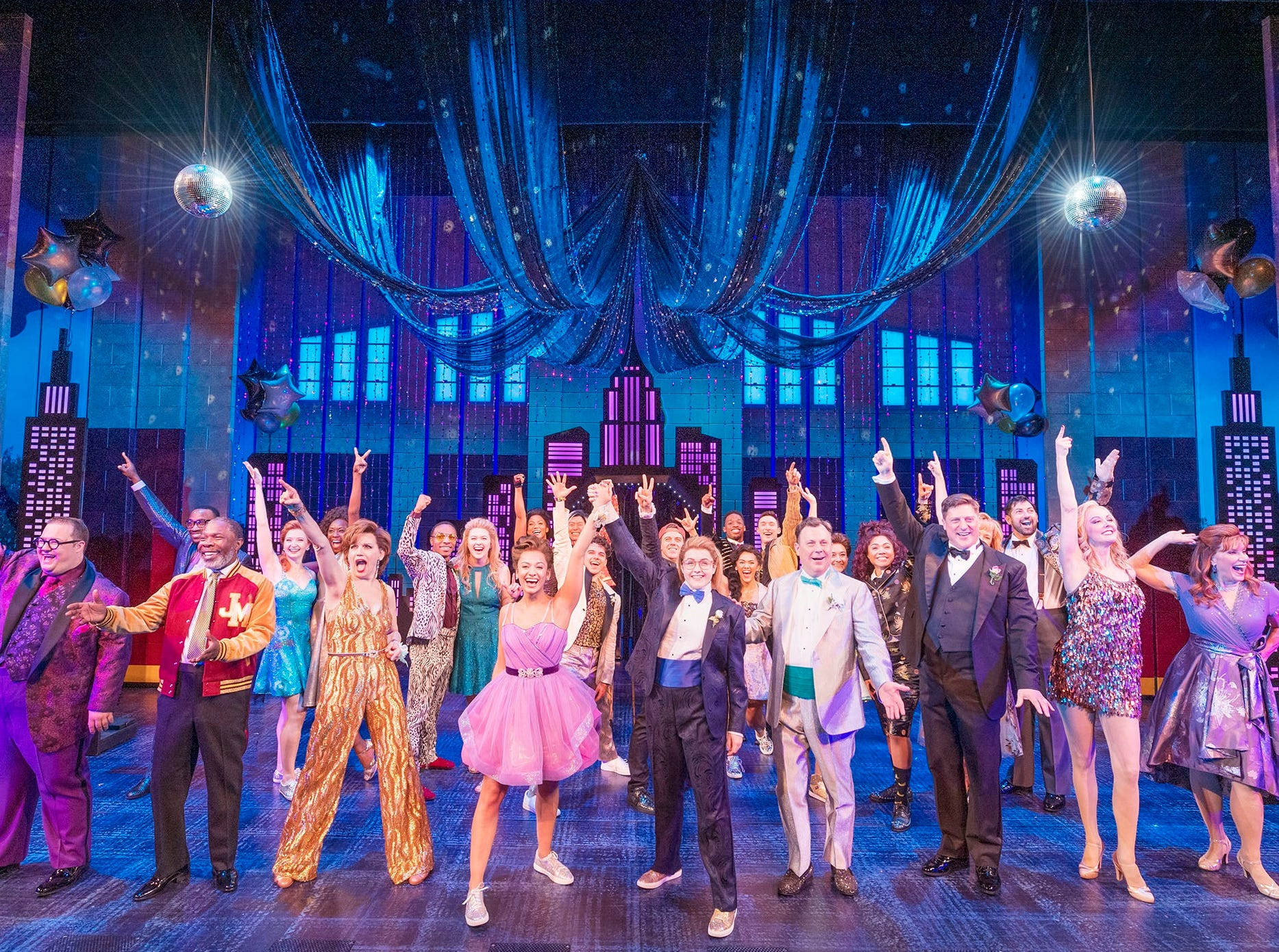 """The cast of Broadway's """"The Prom."""""""