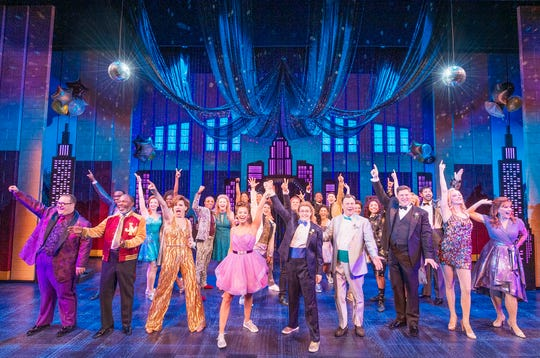 "The cast of Broadway's ""The Prom."""