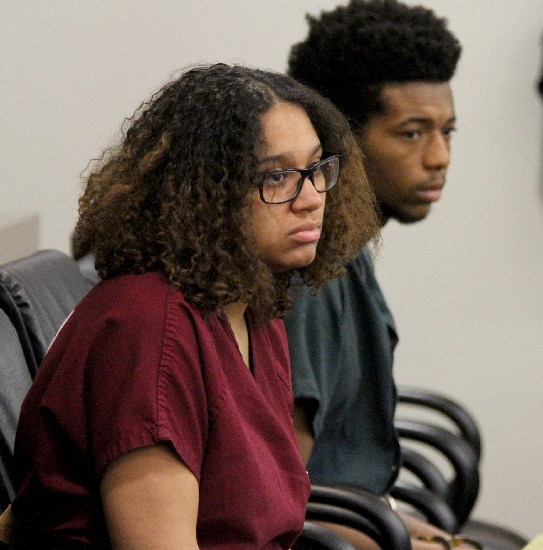 Courtroom in tears as teens accused of killing a newborn baby in Neptune face judge
