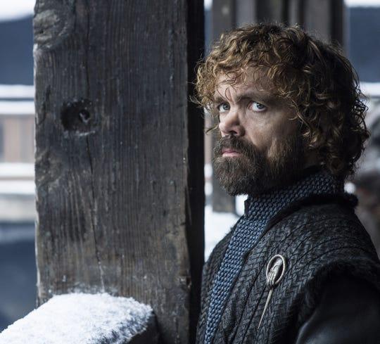 "Peter Dinklage as Tyrion Lannister in ""Game of Thrones"" Season 8."
