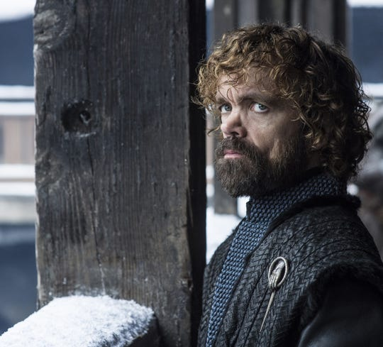 "Peter Dinklage as Tyrion Lannister in ""Game of Thrones"" Season 8."