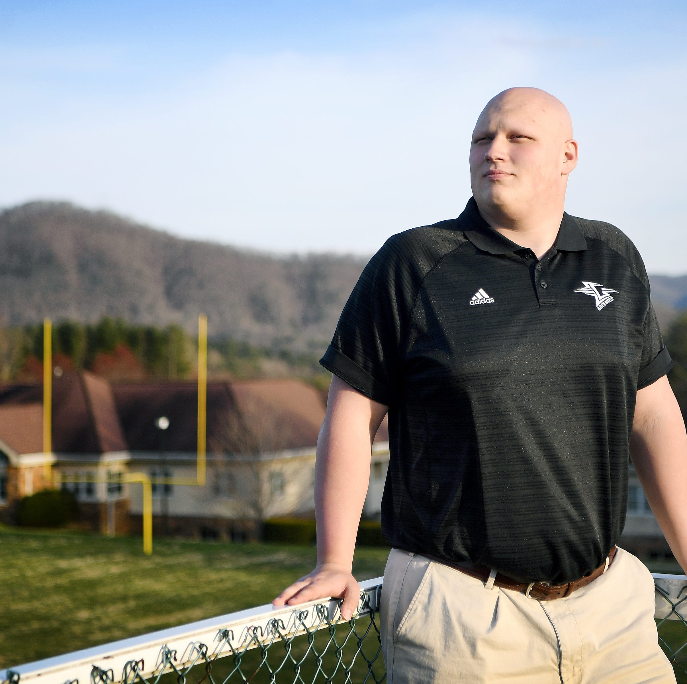 Christ School lineman's journey with disease prepares him for bright future