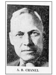 Battle Creek architect A.B. Chanel
