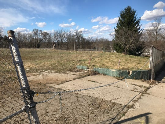 Greenprint Partners planted trees at the former Wilson Academy site along Spring and Orient streets in Battle Creek, but now the company has returned the property to the city and Battle Creek Public Schools.