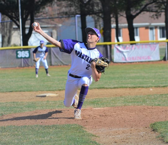 Lakeview's Brendan Shepherd is a key returners for the Spartans and brings experience to the pitching mound for 2019.