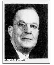 Meryl G. Corlett was a Battle Creek lumber and coal baron. His family lived at 92 Garrison Ave. from 1927 until 1951.