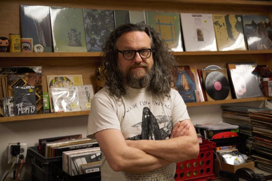 George Johann, owner of Angry Mom Records.
