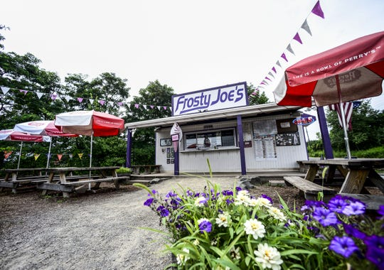 Frosty Joe's is located on 1 Track Drive in Binghamton.