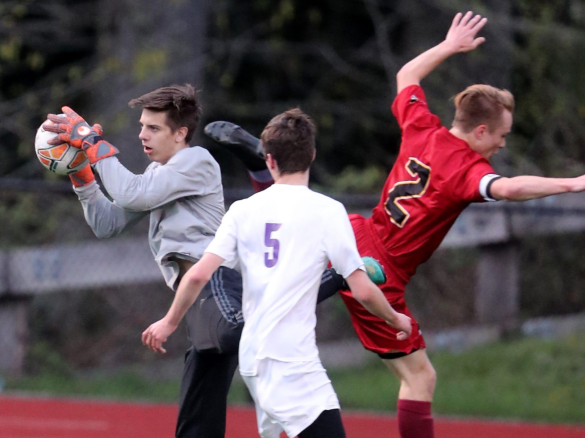 Kingston vs North Kitsap Soccer in Kingston on Tuesday, April 9, 2019.