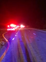 Multiple cows were struck and killed in a crash involving four vehicles on U.S. 192 in West Melbourne.