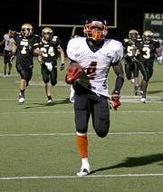 Chevelle Buie and Cocoa High football played Abilene, Texas, in 2010 in a game in the Dallas suburb of DeSoto.