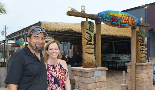 Jerry and Judi Hiebert, who own Whiskey Beach Pub in Satellite Beach, seen here, are moving their tavern to the building that formerly housed The Cove.