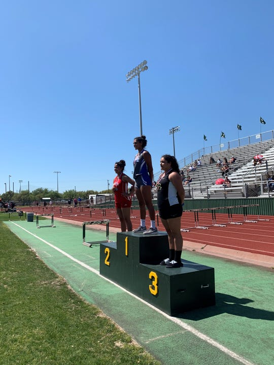 Ingleside's Amanda Clarkson placed first in shotput and Myranda Billman placed first in long jump and triple jump.