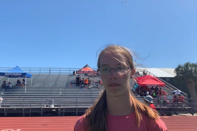 Billman placed first in long jump and triple jump at the District 31-4A Track and Field meet at Rockport-Fulton high school on Wednesday.