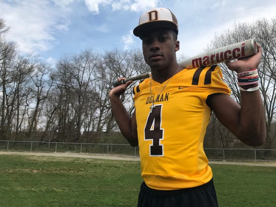 Delran junior RJ Moten is a star on the football field and baseball diamond. He's hoping to play both sports at the Division-I level.